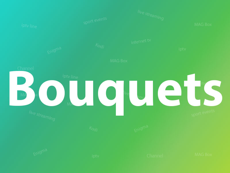 what are bouquets?