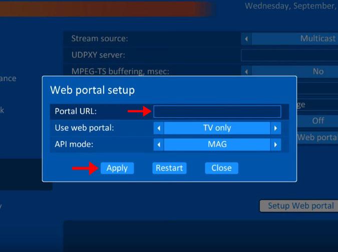 How to setup IPTV on TVIP Box?-IPTV guide on TVIP box