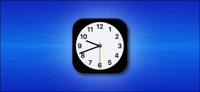Apple iOS Clock App Icon
