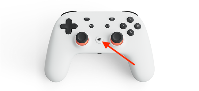 Press and hold the Stadia button