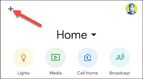 google home add new