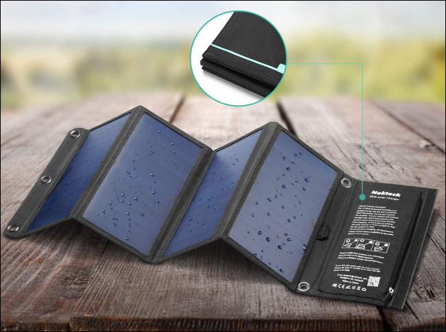 Nekteck Solar Panel Charger