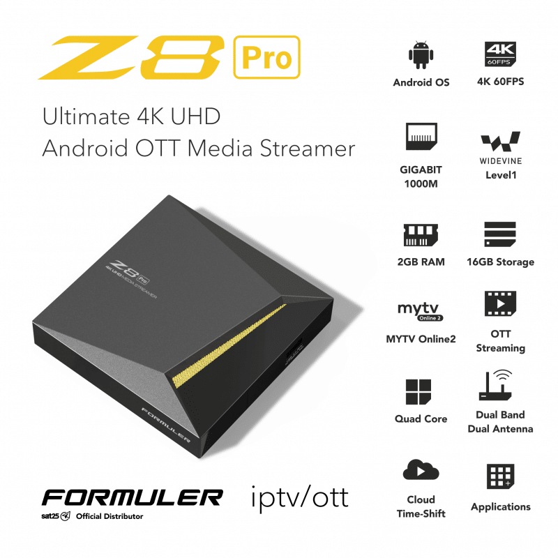 How to setup IPTV on Formuler Z8 using MyTVOnline 2?