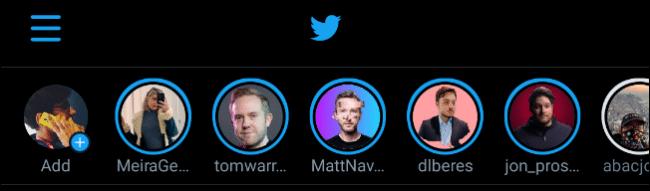 Fleets on Twitter app
