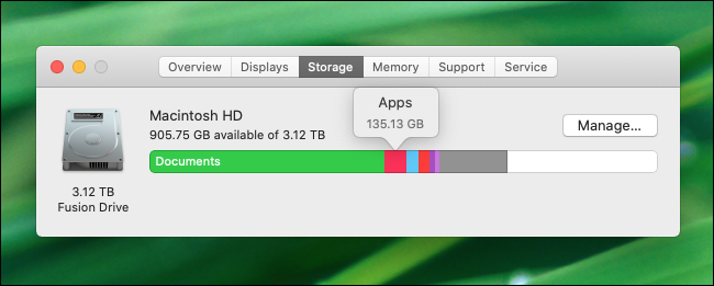 Managing Storage in macOS