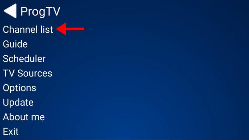 Prog TV iptv guide