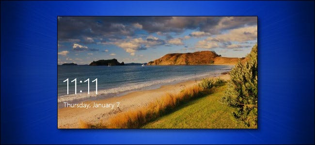 How to Change Your Windows 10 Lock Screen Background